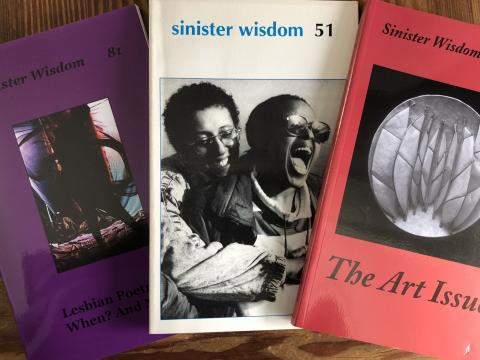 Dyke Creativity 3 issues of Sinister Wisdom